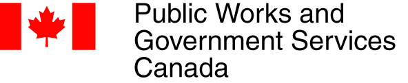 Public Works and Government Services Canada Logo.
