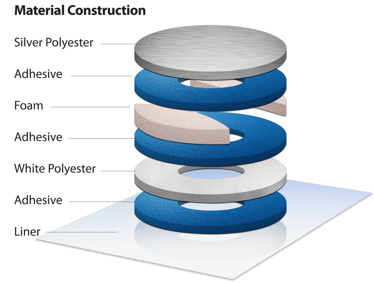 Multi-layer construction drawing concept.
