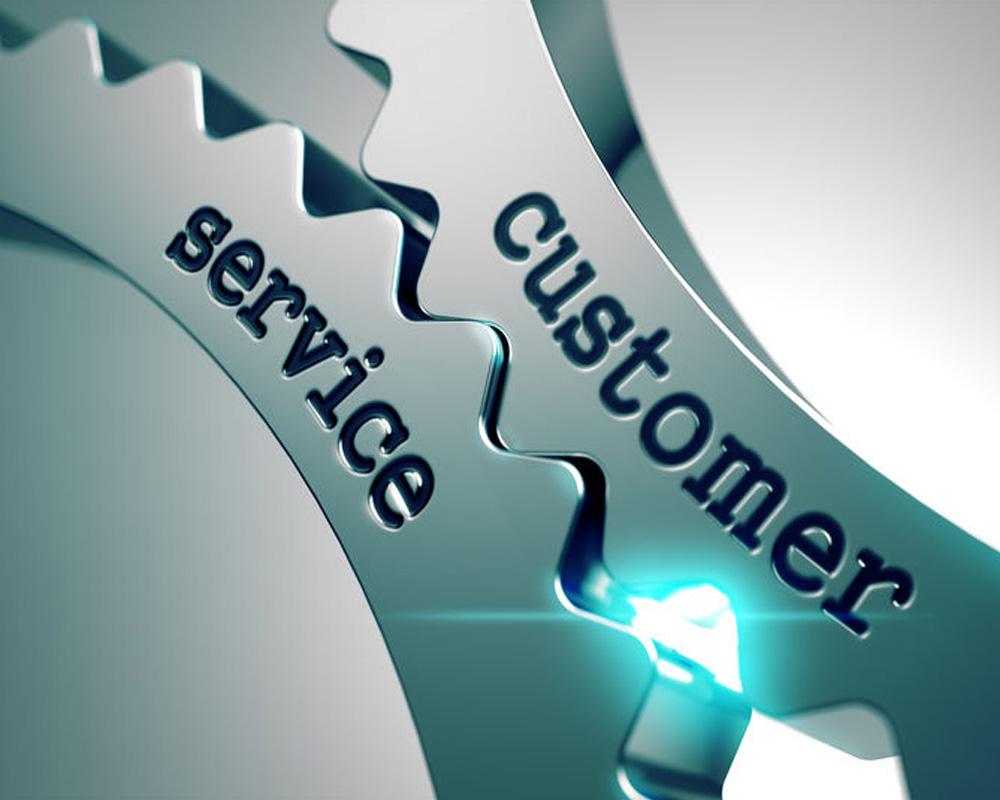 Customer Service conceptual photo.