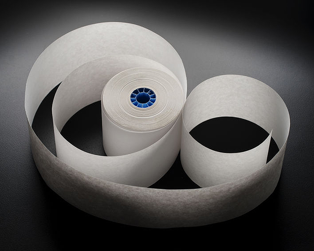 Image of a small spool of paper.