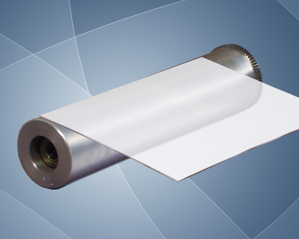 Photo of an isolated press roll.